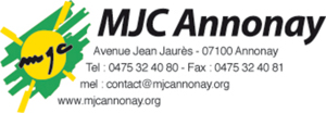 logo de l'association MJC ANNONAY