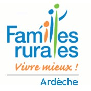 logo de l'association GROUPEMENT DES ASSOCIATIONS FAMILLES RURALES DE L'ARDECHE