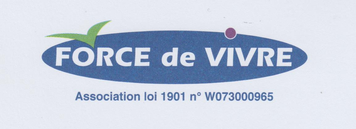 logo de l'association FORCE de VIVRE